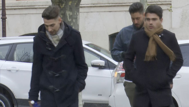 Los tres exjugadores de La Arandina han sido condenados a penas que suman 114 años.