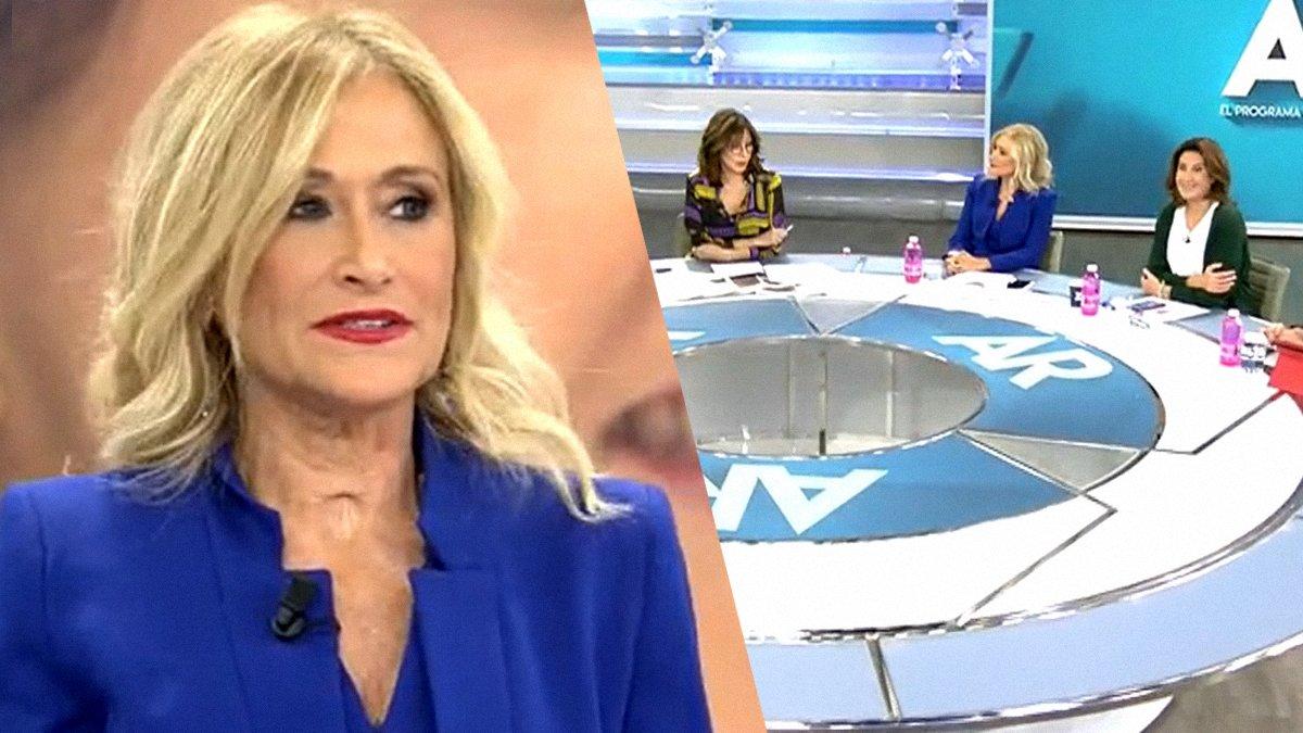 Cristina Cifuentes acude como invitada a 'El programa de Ana Rosa' para hablar de Torra
