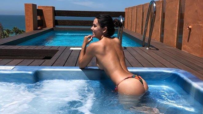 Cristina Pedroche revoluciona Instagram con un posado sexy en bikini.