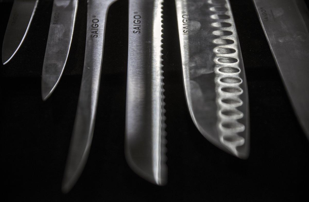 Cuchillos Saigo.