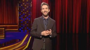 El humorista David Broncano, durante sumonólogo, en el programa Late motiv de #0.