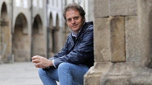 Domingo Villar, autor de la novela 'El último barco'.