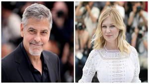 George Clooney y Kirsten Dunst.