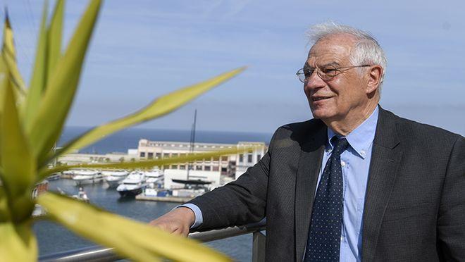 Josep Borell,el candidato al Parlamento Europeo por los socialistas, entrevistado por El PERIÓDICO.