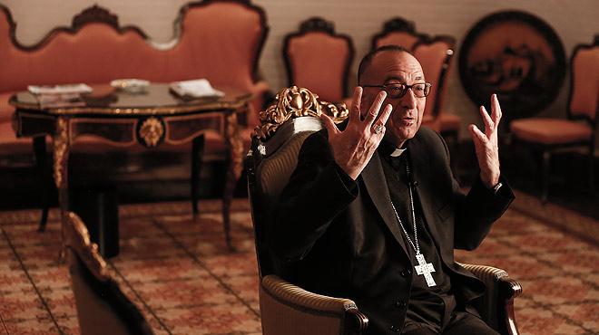 El arzobispo de Barcelona, Juan José Omella, recibe a EL PERIÓDICO y contesta a sus preguntas.