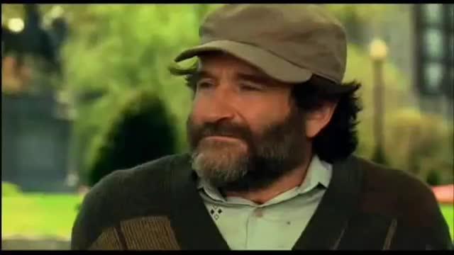 El famoso diálogo entre Robin Williams y Matt Damon en 'El indomable Will Hunting'
