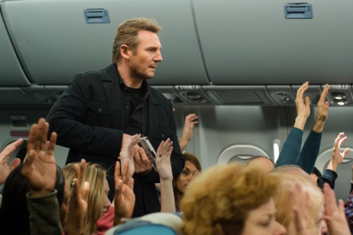 Cine en La 1 de TVE: Liam Neeson tendrá un turbulento vuelo en 'Non stop (sin escalas)'