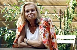 La escritora mallorquina Carme Riera, el pasado viernes.