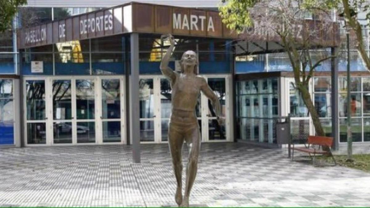 La estatua, en una imagen de archivo.