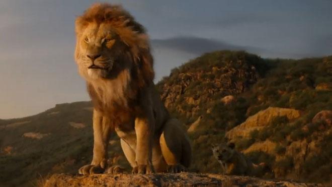 Estrenos de la semana. Tráiler de 'El rey león'.