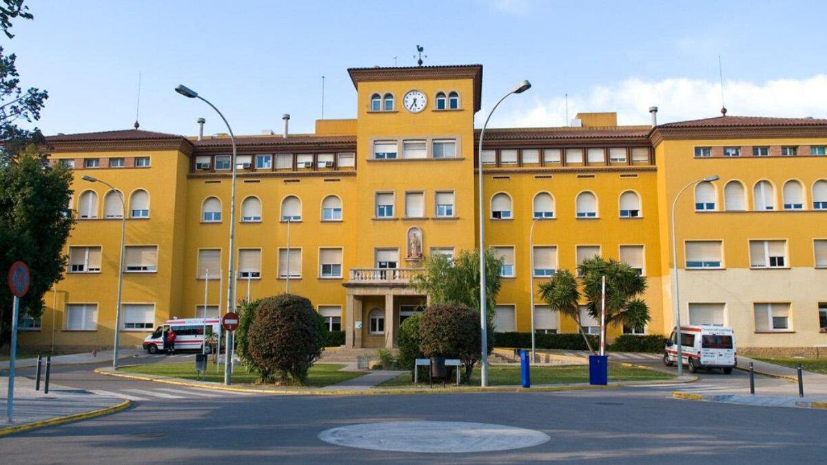 La fachada del Hospital de Viladecans en una imagen de archivo