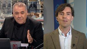 Antonio García Ferreras y Pablo Montesinos.