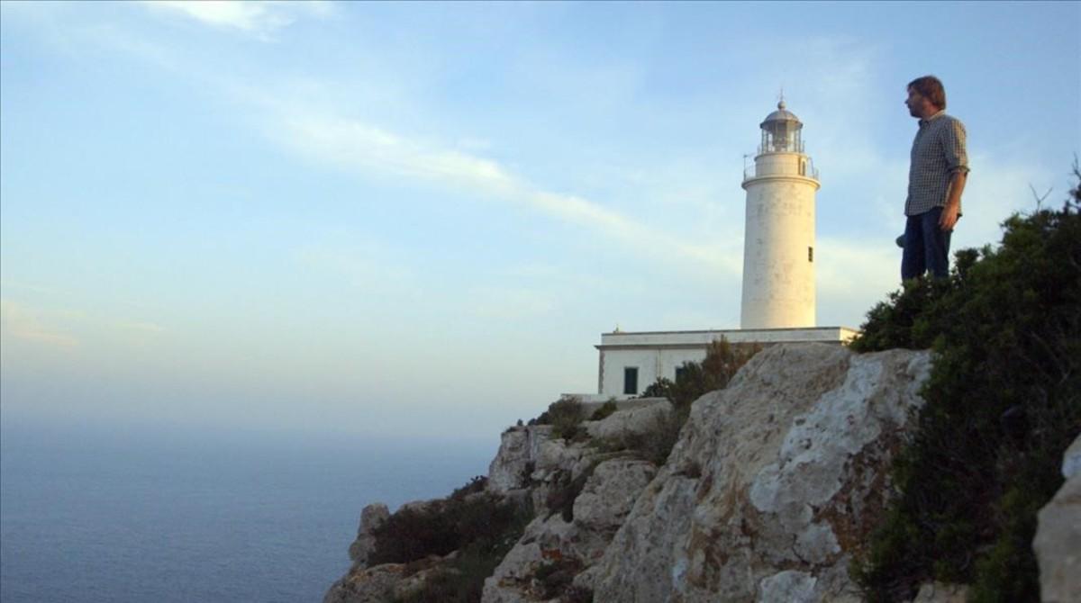 Quim Masferrer, en una imagen del especial desde Formentera.