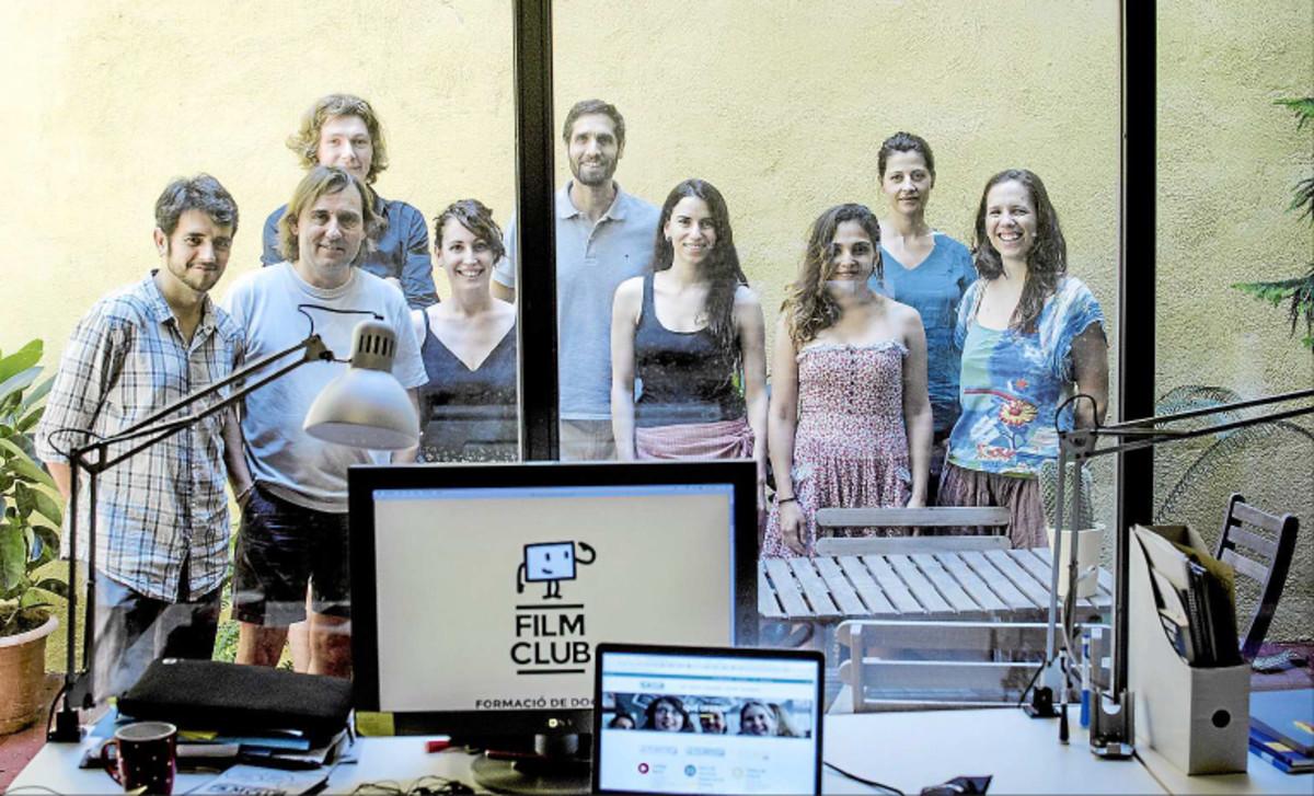 El equipo de Filmclub.