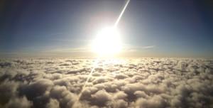 Estudiantes de la UPC lanzan a la estratosfera un globo que capta fotos de la Tierra y el Sol