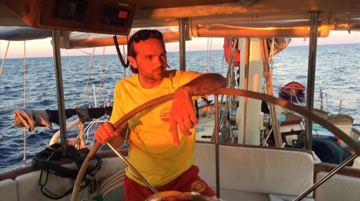 Gerard Canals, excoordinador de acciones en Lesbos de Proactiva Open Arms.