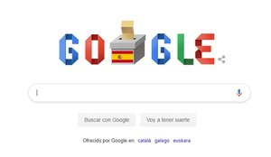 El doodle de Google.