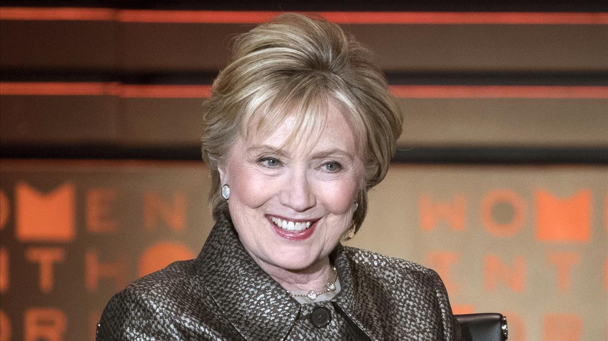 Hillary Clinton, en un evento social en Nueva York, el 6 de abril del 2017.