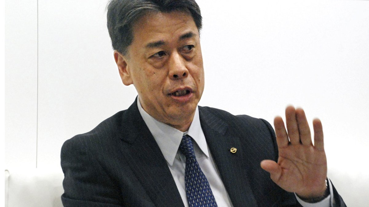 Makoto Uchida, nuevo consejero delegado de Nissan.