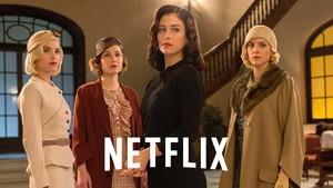 Imagen promocional de la tercera temporada de Las chicas del cable.