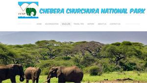 Captación de la web del parque natural de Chebera-Churchura, en el sur de Etiopía.