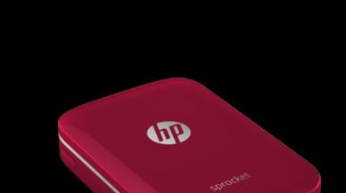 Impresora portátil HP.