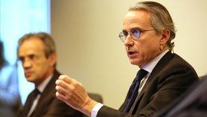 Javier Faus, en un debate económico.