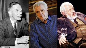 John Cheever, John Irving y JP Donleavy.