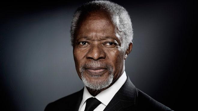 Kofi Annan muere a los 80 años.