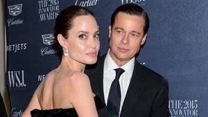 Angelina Jolie y Brad Pitt, en noviembre del 2015.