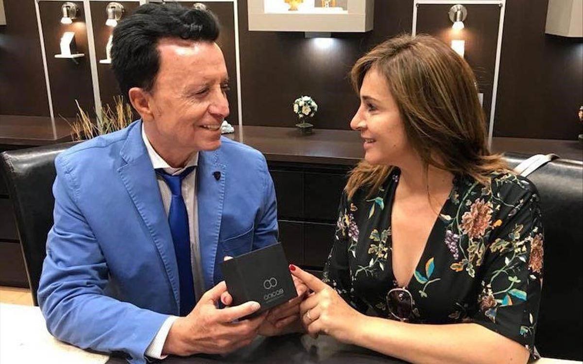 Ortega Cano y Ana María Aldón.