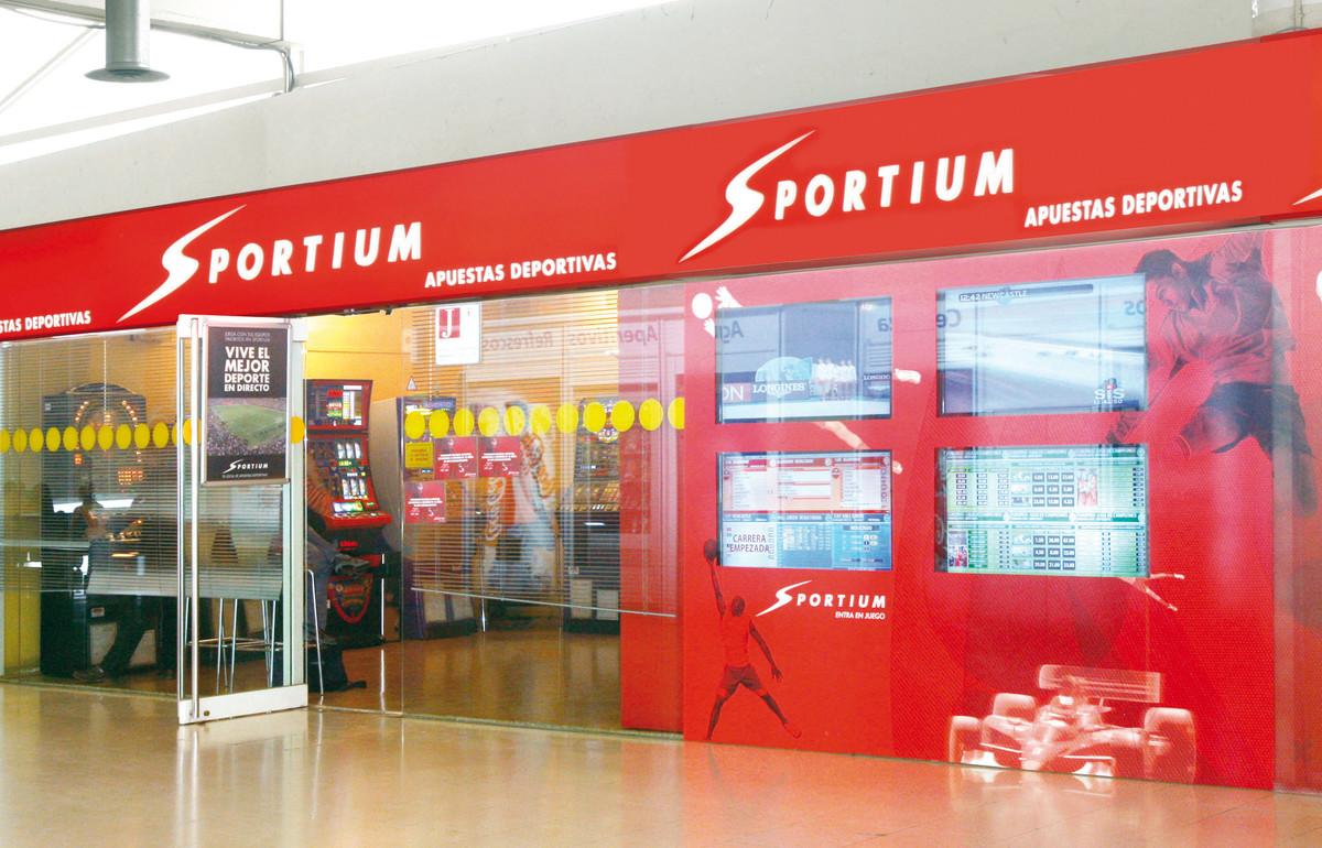 Local de apuestas deportivas de Sportium (Cirsa).
