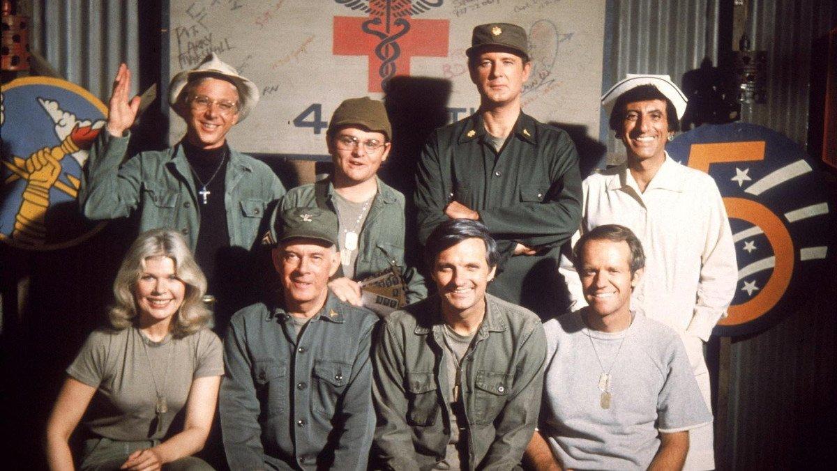 Los protagonistas de la serie 'M.A.S.H.'.