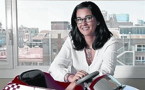 Mar Alarcon, fundadora de la 'start-up' SocialCar.