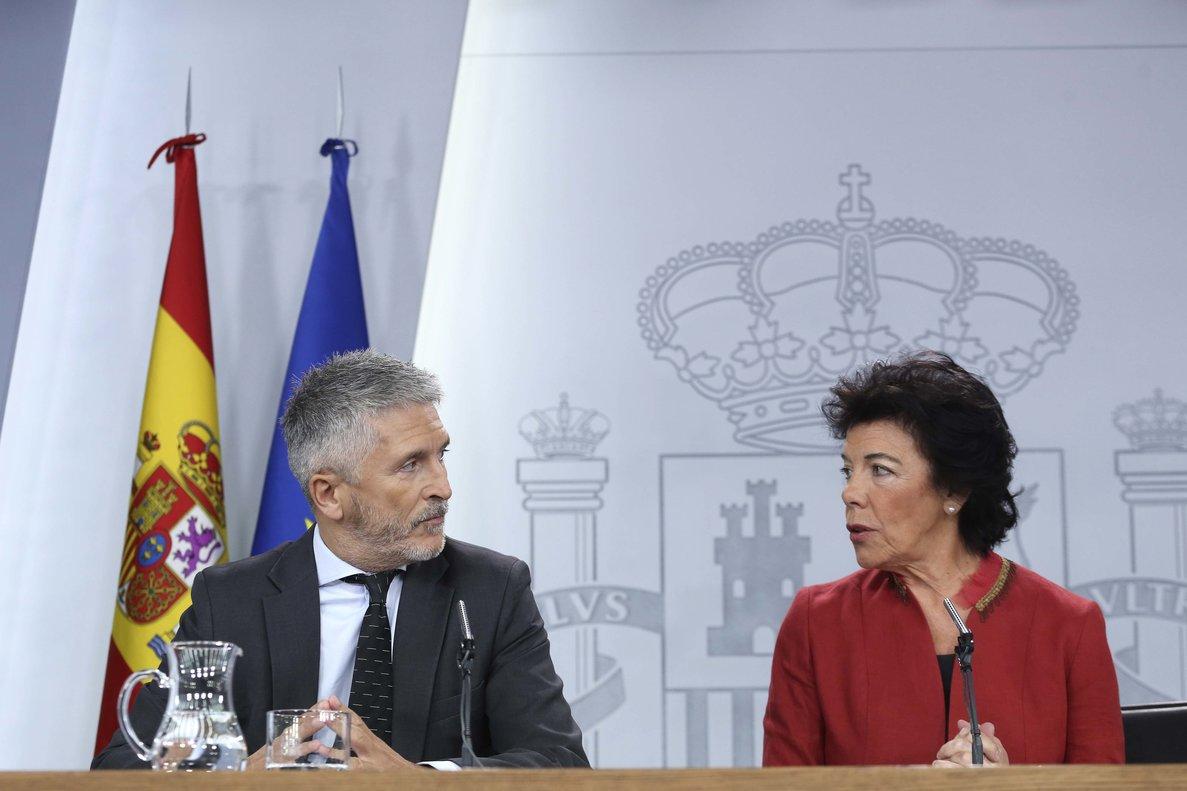 Directo | Reacción del Gobierno a los disturbios de Catalunya