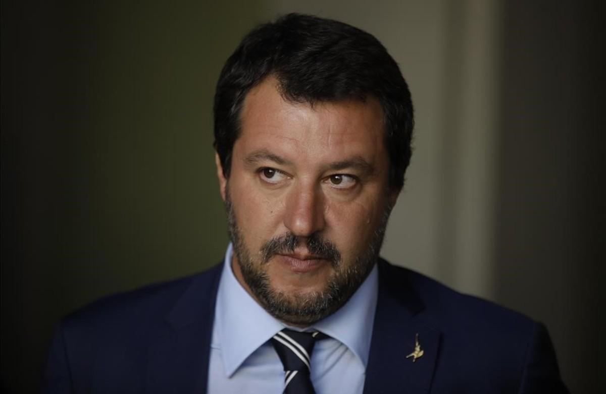 El viceprimer ministro italiano, Matteo Salvini.