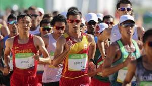 Miguel Ángel López, en los Juegos de Río 2016.