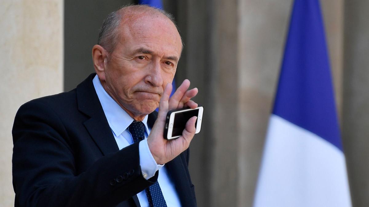 El ministro de Interior francés,Gerard Collomb.