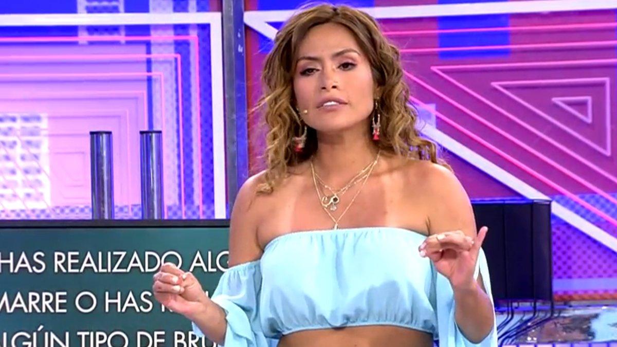 Miriam Saavedra en 'Sábado Deluxe'.