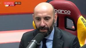 Monchi, director deportivo de la Roma.