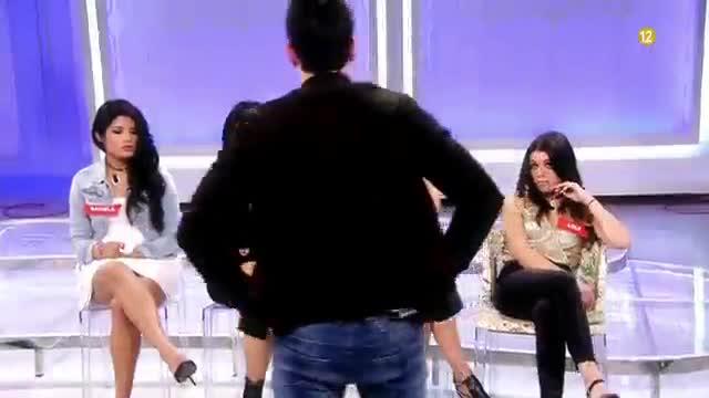 Vídeo promocional del programa de Tele 5 'Mujeres yhombresyviceversa', amb final que s'emet en directe.