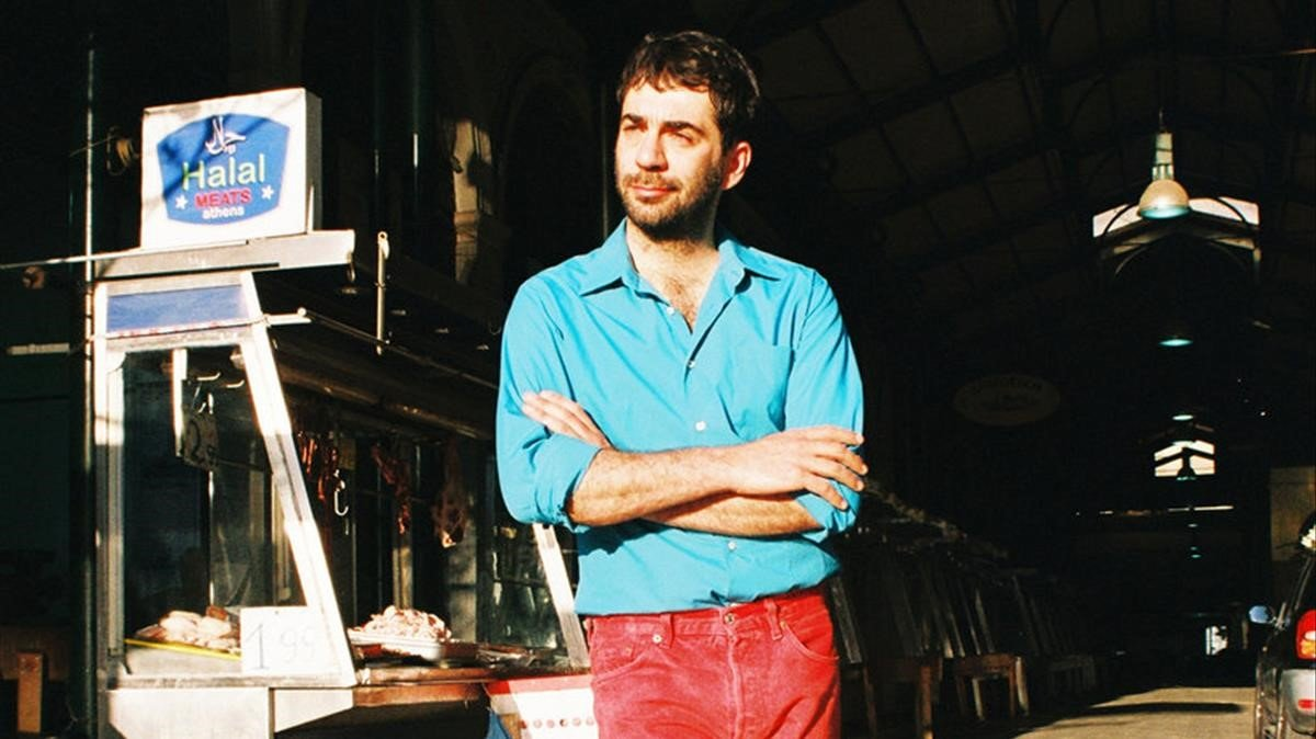 El músico Evripidis.