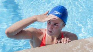 La nadadora Mireia Belmonte, una de las deportistas que habitualmente entrenan en el CAR de Sant Cugat.