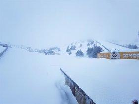 Les pistes d'esquí de Madrid, obertes per a aquest cap de setmana