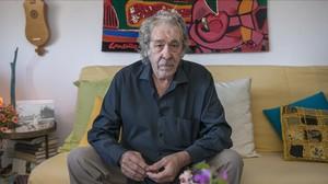 Paco Ibáñez, fotografiat dissabte 14 de novembre a casa sevaa Barcelona.