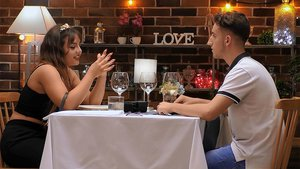 Patricia y Samuel en 'First Dates'.