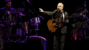Paul Simon, en Madrid.