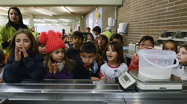 Pla contra el malbaratament de menjar a les escoles. El cas de lescola LArenal de Llevant, al Poblenou de Barcelona.