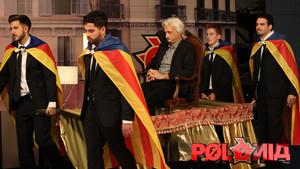 Imagen del programa de sátira política de TV-3 'Polònia'.