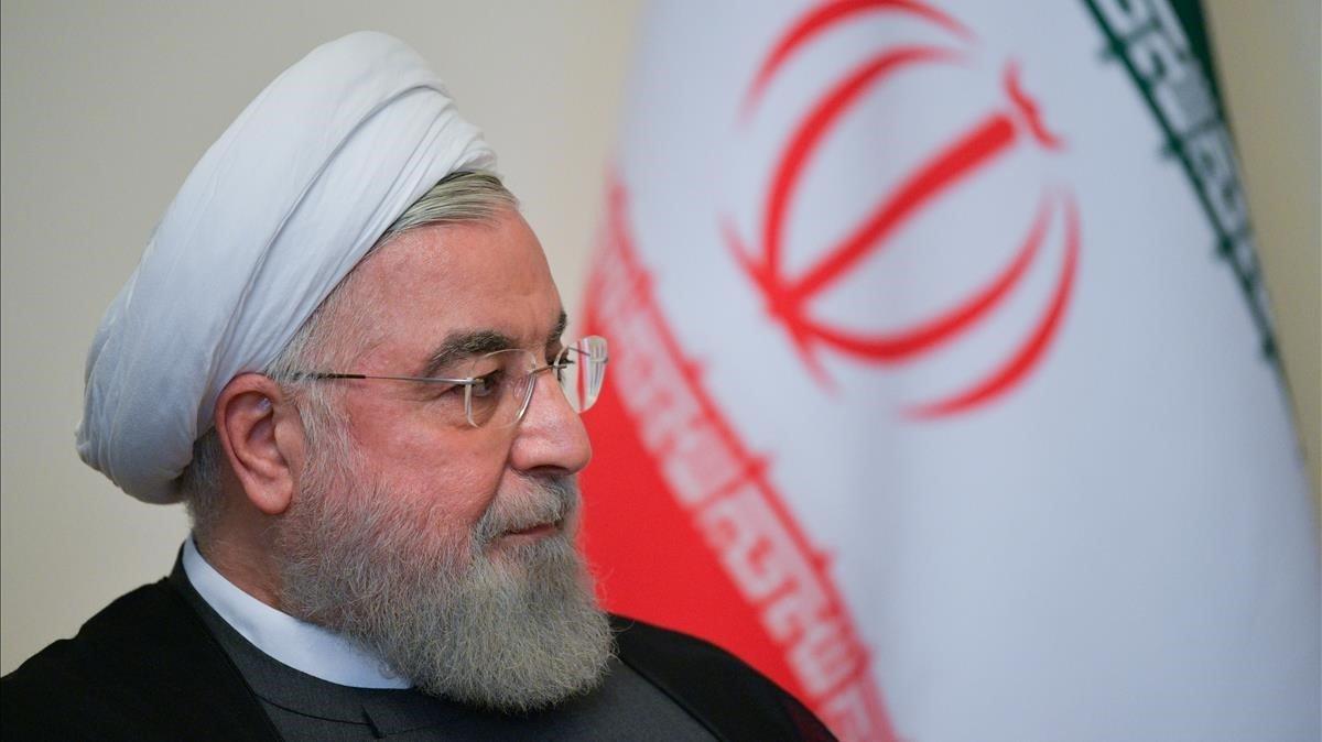 El presidente iraní, Hassan Ruhani.